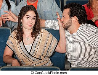 Irked Girlfriend - Irritated girlfriend stops misbehaving...