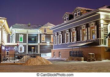Irkutsk. Siberia. - Architecture of the city of Irkutsk