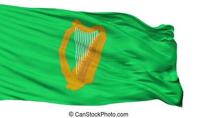 irland, marine, wagenheber, fahne, freigestellt, seamless,...