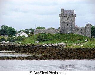 irlandais, château