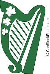 irlandzka harfa