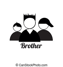 irmão, ícones