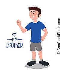 irmão, desenho