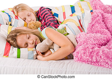 irmãs, bea, dormir