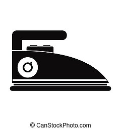 Iron black simple icon