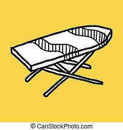 iron board doodle