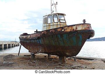 iron boat