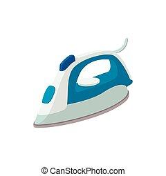 Iron cartoon icon