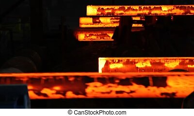 iron cast in steel making factory - iron cast in steel...