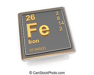 iron., chemisch, element.