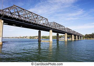 Iron Cove Bridge, Sydney - Image of Iron Cove Bridge in...