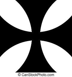 Iron cross icon