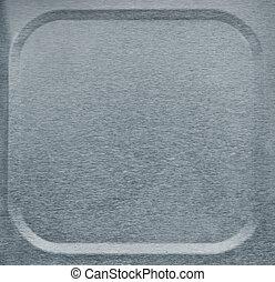 aluminum framed background