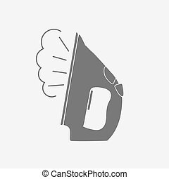 Iron Icon Vector Illustration EPS10
