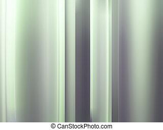 iron metal green background