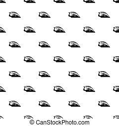 Iron pattern, simple style