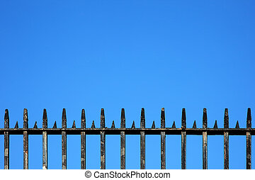 Iron Railings Backgroung