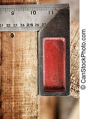 Iron ruler