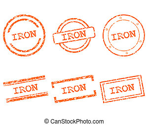 Iron stamps