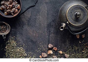 Tea ceremony concept