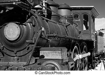 Iron Train - Old western steam engine