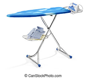 ironing board isolated