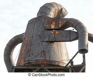 Ironman at Bronx - Iron statue at Bronx