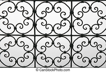 ironwork pattern