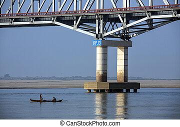 Irrawaddy River - Myanmar