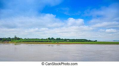 Irrawaddy River, Sagaing Region, Myanmar