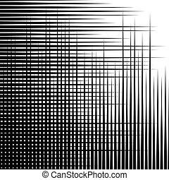 Irregular grid, mesh pattern, abstract monochrome geometric texture