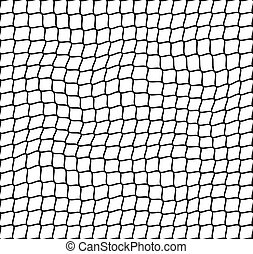 irregular net seamless pattern - illustration for the web