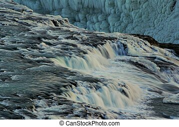 Hv?t? (White River), Iceland.