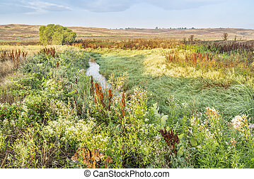 irrigation ditch in Colorado