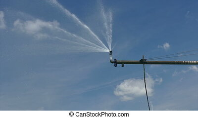 Irrigation sprinkler for watering - Irrigation system...