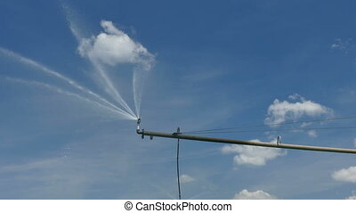 Irrigation system for watering - Irrigation system sprinkler...