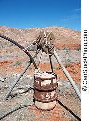 Irrigation system in Fuerteventura