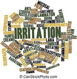 irritación