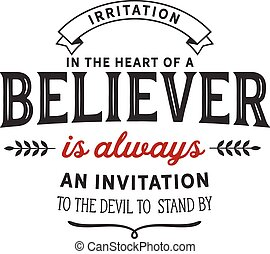 an invitation to the devil
