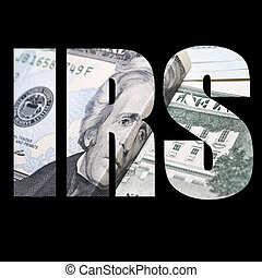 IRS Money - Money and Currency Design Background and Detail