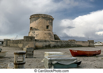 watchtower - is a coastal watchtower abandoned