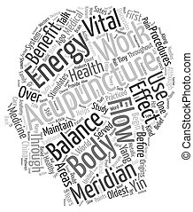 Is Acupuncture A Benefit For Your Health text background wordcloud concept