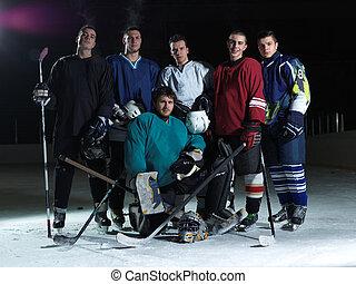 is spillere hockey, hold