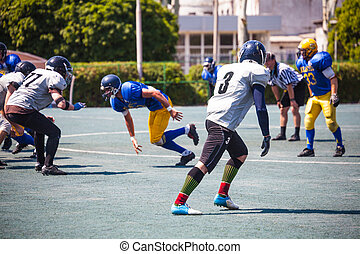 is the American football match