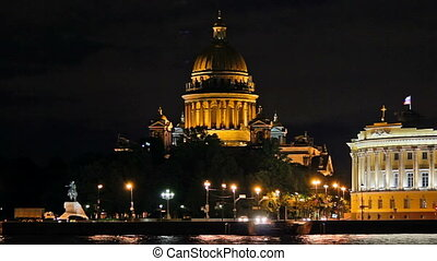 Isaac's Cathedral - a view from the waterfront