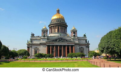 isaakiy cathedral church in Saint-petersburg, Russia