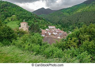 Isaba village in Navarre