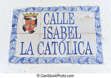 Isabel the Catholic Street, Santo Domingo, Domican Republic...