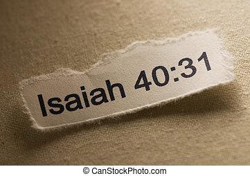 isaiah, 40:31