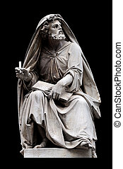 Isaiah by Salvatore Revelli on the base of the Colonna...